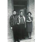 Mit den Eltern, Juni 1963